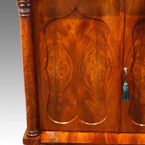 Victorian cabinet door