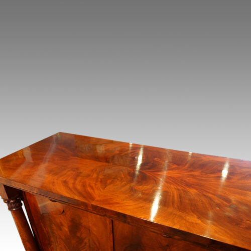 Mahogany sideboard top
