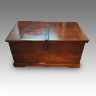 Antique Colonial hardwood merchants chest