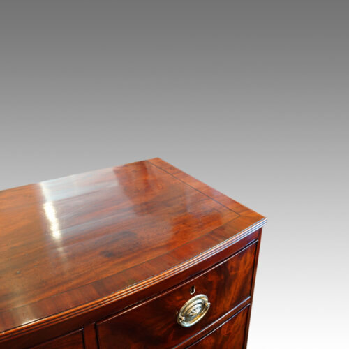 Mahogany chest top