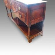 Antique oak potboard dresser base,8