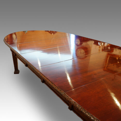 Edwardian dining table