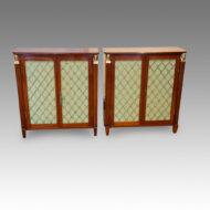 Pair of Regency style cabinets