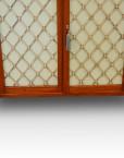 Brass grille doors