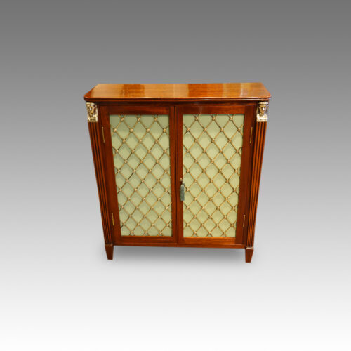 Pair of Regency style cabinets,1