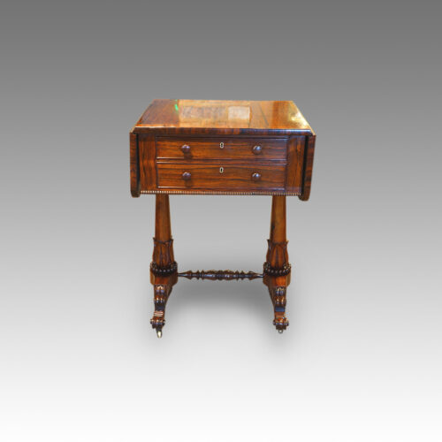 William IV rosewood worktable