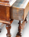 William & Mary cabinet on stand,9
