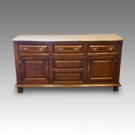 Antique oak cupboard dresser base