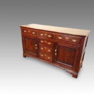 Georgian oak dresser