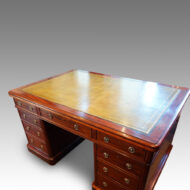 Victorian mahogany partners desk top