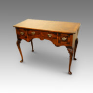 1920's walnut dressing table