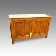Arts and Crafts oak cupboard