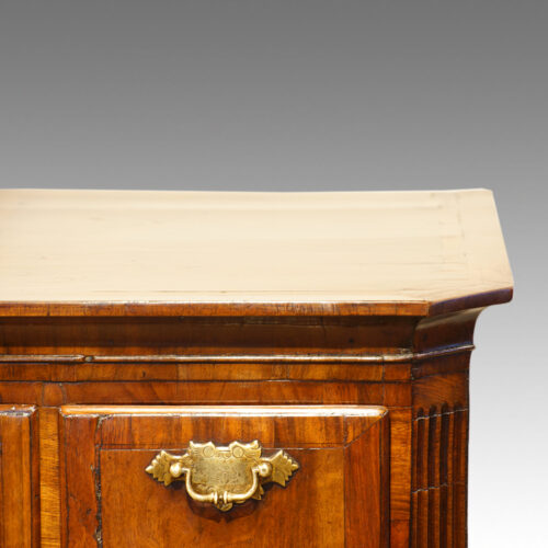 Box drawer of Queen Anne chest