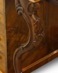 Victorian walnut 'pop up' piano top Davenport desk,15