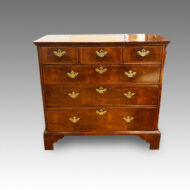 Queen Anne walnut chest