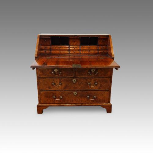 Antique walnut bureau