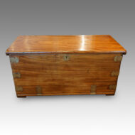 Anglo Indian camphorwood large chest