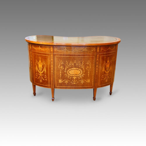 Edwardian inlaid desk