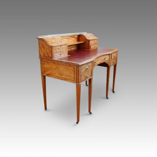 Antique satinwood desk