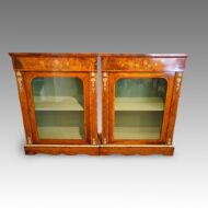 Victorian display cabinets