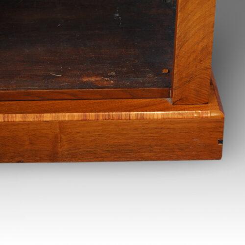 Victorian open bookcase plinth