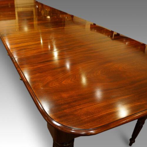 Antique 16 seat dining table