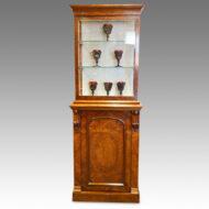 Victorian walnut cabinet by Wylie & Lochead