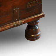 Antique chest turned foot