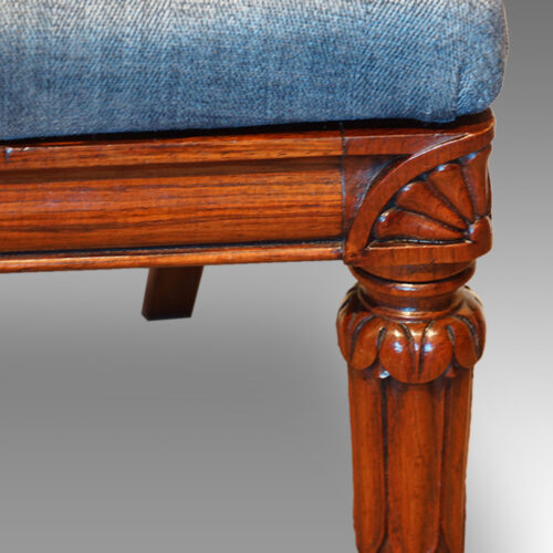 Antique chair leg