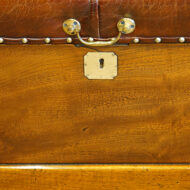 Victorian campaign chest lifting handle