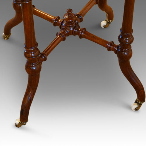 Victorian table base