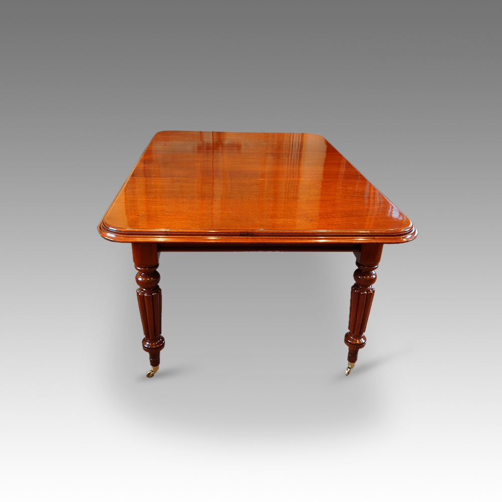 Victorian mahogany extending dining table hingstons antiques dealers - Antiques dining tables ...