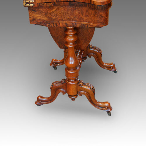 Victorian work table base