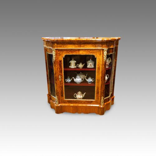 Victorian walnut side-cabinet