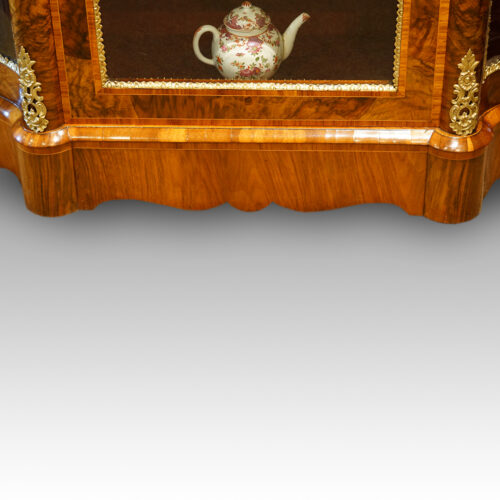 Victorian display cabinet base