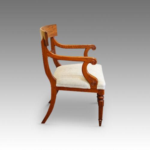 Georgian set of dining chairs