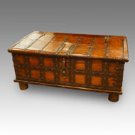 Antique hardwood merchants chest