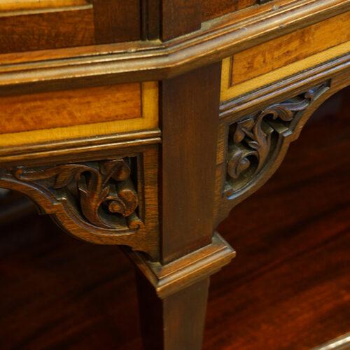 Fine carved mahogany