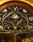 Art Nouveau Copper fretted panel