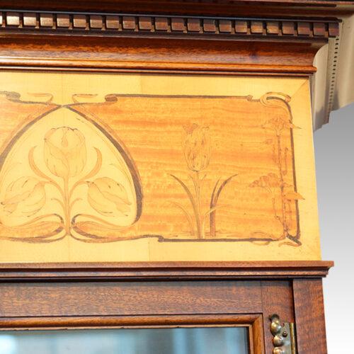 Edwardian inlaid cabinet