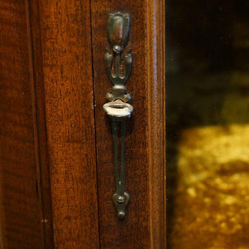Art Nouveau escutcheon
