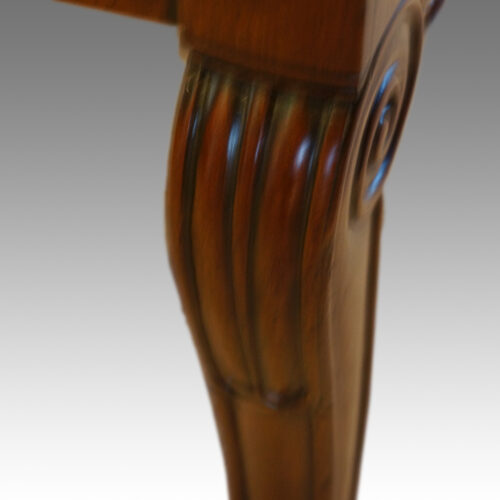 Detail front leg