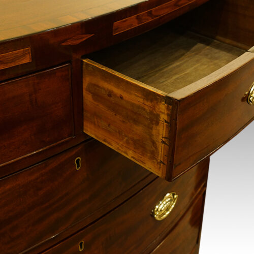 Antique mahogany chest