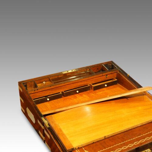 Victorian lap desk secret drawers