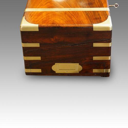 Antique travelling desk drawer
