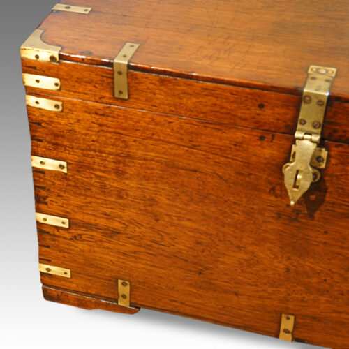 Victorian military chest