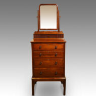 Edwardian mahogany gentlemans dressing chest