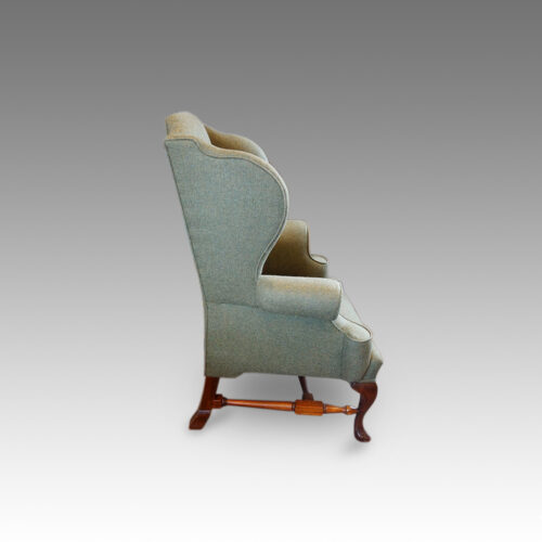 Georgian style wingchair side view