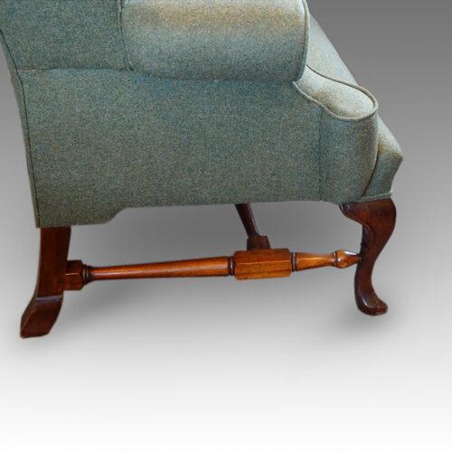 Georgian style wingchair stretcher