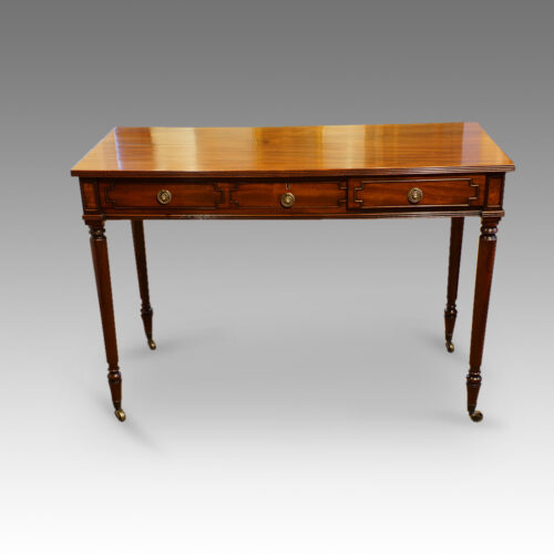 Regency mahogany sidetable